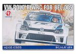 Hobby Design HD02-0325 VW POLO R WRC For BEL-005