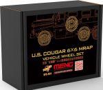 Meng SPS-024 US Cougar 6x6 Mrap Vehicle Wheel Set