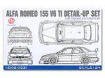 Hobby Design HD02-0331 Alfa Romeo 155 V6 TI Detail-UP Set For T