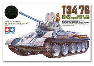 Tamiya 35049 T34/76 1942 Tank