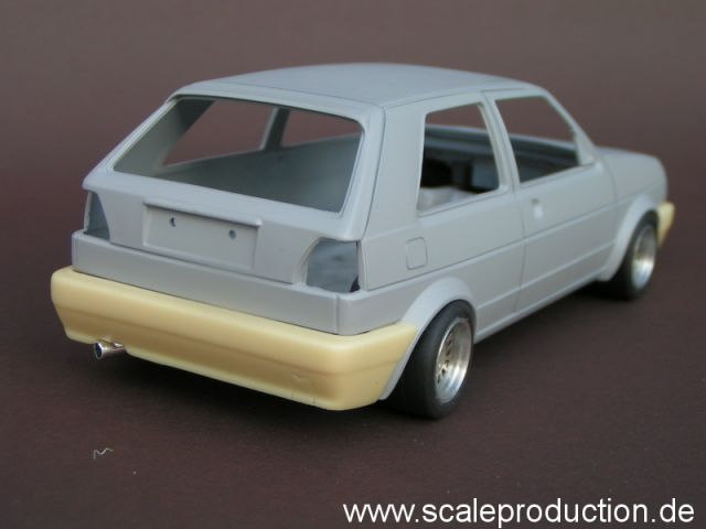 Scale Production SPTK-GL V-W Golf 2 GL bumpers (REVELL)