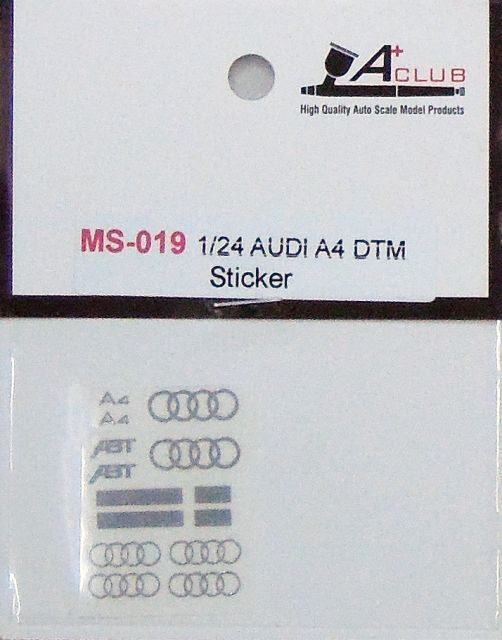 A+Club MS-019 AUDI A4 DTM Sticker
