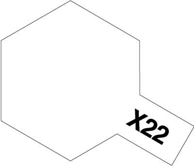 Tamiya 81522 MINI X-22 CLEAR