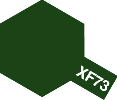 Tamiya 81773 MINI XF-73 DARK GREEN(JGSDF)