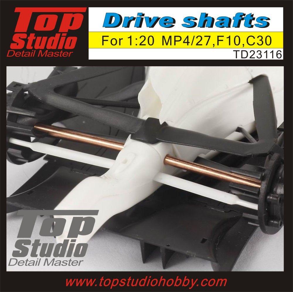 Top Studio TD23116 1/20 MP4/27, F10, C30 Drive Shafts