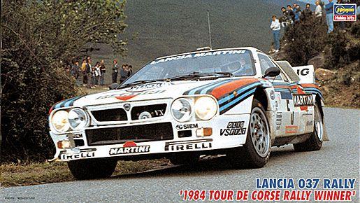 Hasegawa 25030 Lancia 037 Rally 1984 Tour de corse Rally Winner