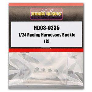Hobby Design HD03-0235 Racing Harnesses Buckle (C)