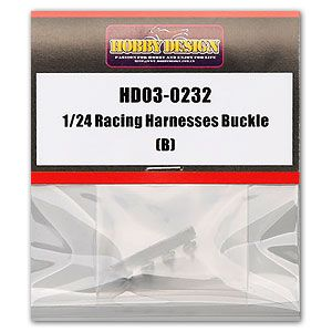 Hobby Design HD03-0232 Racing Harnesses Buckle (B)