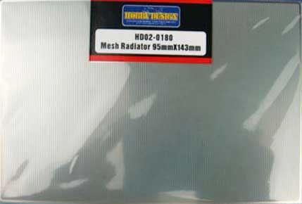Hobby Design HD02-0180 Mesh Radiator 95mm x143mm
