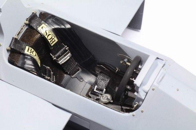 Top Studio TD23057 MP4/4 Cockpit Detail-up Set