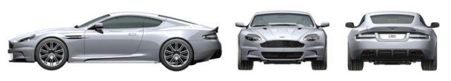 Tamiya 24316 Aston Martin DBS