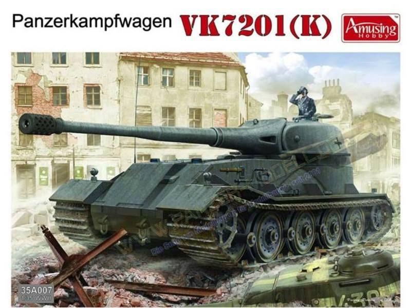 Amusing Hobby 35A007 Panzerkampfwagen VK7201(K)