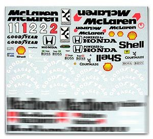 MSM Creation MSMD141 McLaren MP4/7 Full Decal