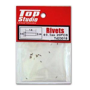 Top Studio TD23018 0.5mm Rivets