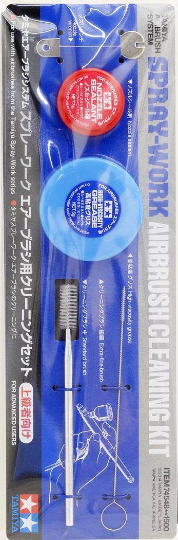 Tamiya 74548 Spray Work Air Brush Cleaning Set