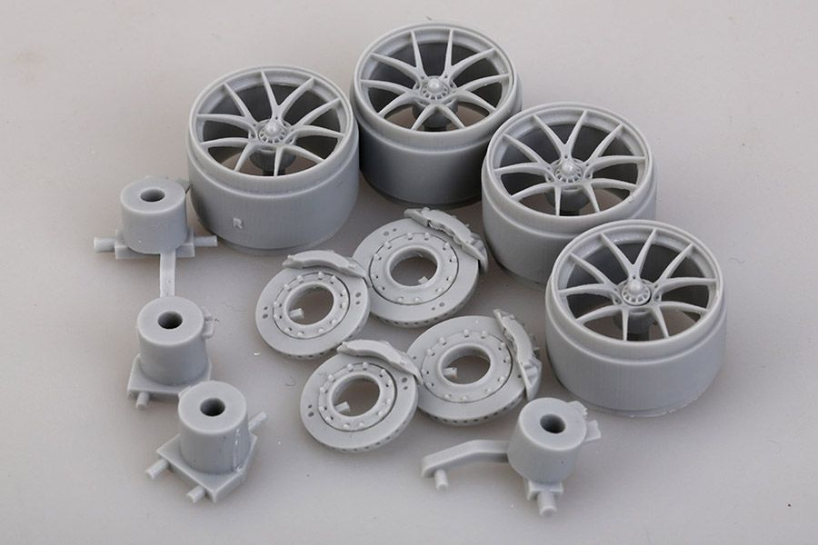 Hobby Design HD03-0308 BMW M3 DTM Brake Systems & Wheels