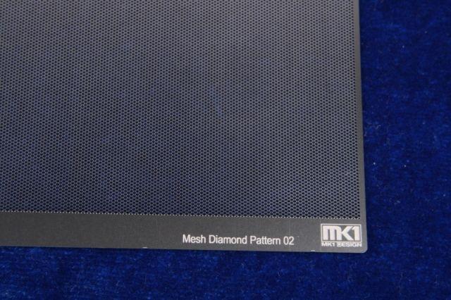 KA-Models KA00004 Diamond Pattern Mesh B 0.25mm X 0.4mm