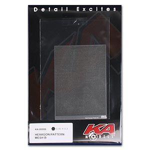 KA-Models KA00006 Hexagon Pattern Mesh B 0.45mm X 0.3mm