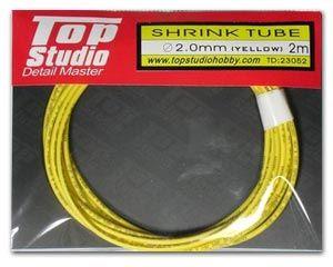Top Studio TD23052 2.0 mm Shrink Tube (Yellow)