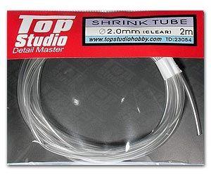 Top Studio TD23054 2.0 mm Shrink Tube (Clear)