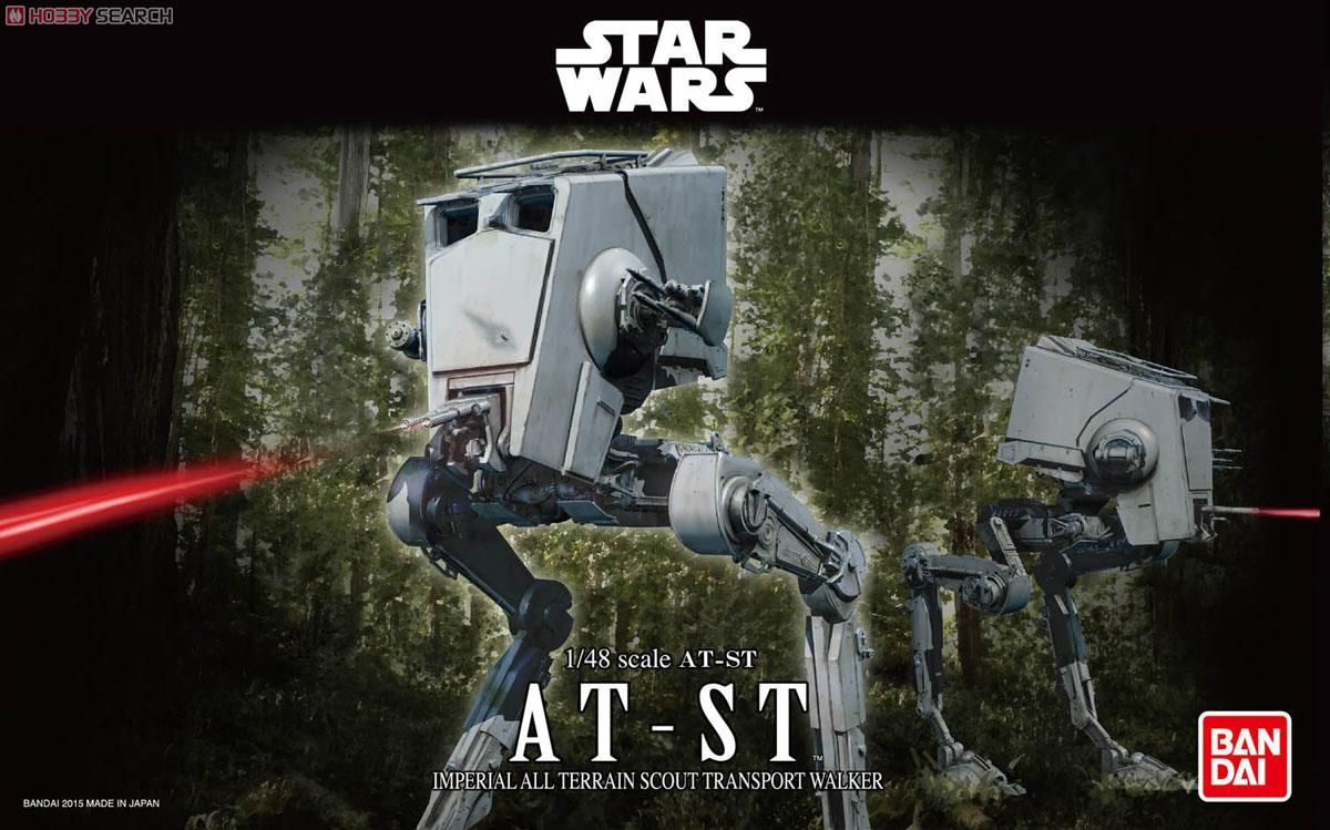 Bandai 0194869 Star Wars AT-ST