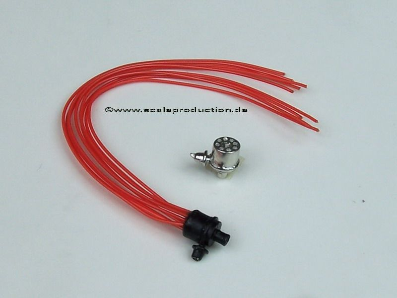 Scale Production SP24208 V8 distributor with ignition wire