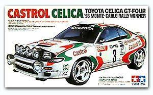 Tamiya 24125 Toyota Castrol Celica GT-4 (1993 Monte-Carlo Winner)
