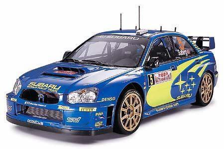 Tamiya 24281 Subaru Impreza WRC Monte Carlo '05