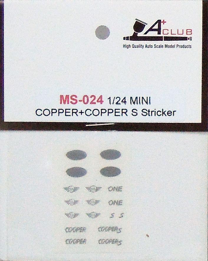 A+Club MS-024 MINI COPPER+COPPER S Stricker