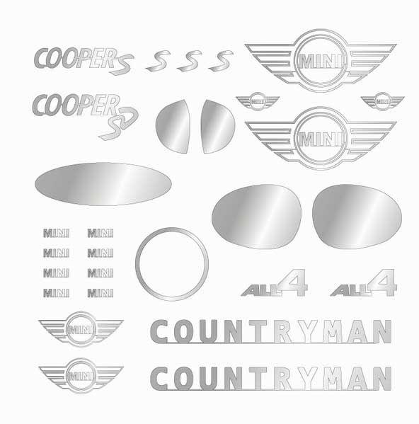 A+Club MS-049 MINI COPPER COUNTRYMAN Sticker