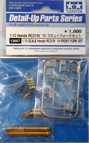 Tamiya 12667 Honda RC213V 2014 Front Fork Set