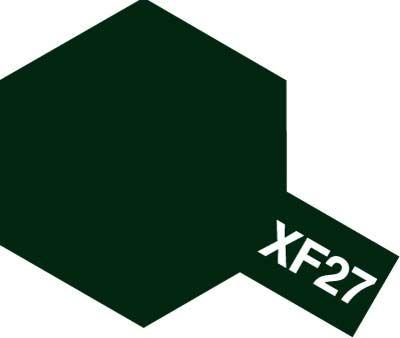 Tamiya 80327 Enamel XF-27 BLACK GREEN