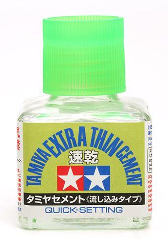Tamiya 87182 Extra Thin Cement Quick-Set