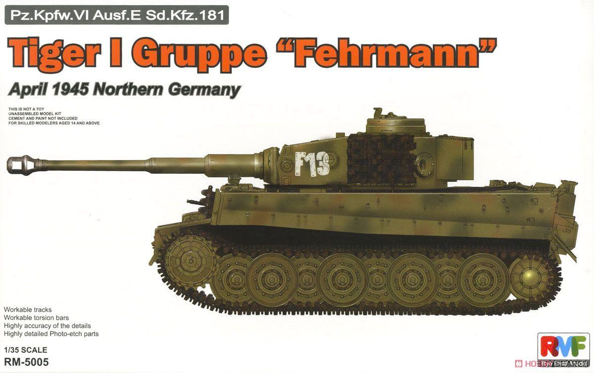 Rye Field Model 5005 Tiger I Gruppe Fehrmann