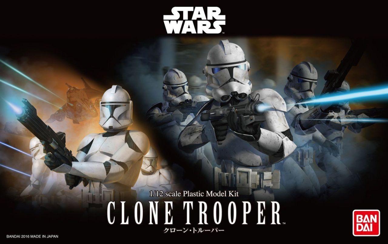 Bandai 0207574 Star Wars Clone Trooper