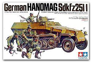 Tamiya 35020 German Hanomag Sd.Kfz. 251-1 Armored Half-track