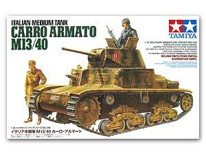 Tamiya 35296 Med. Tank Carro Armato M13-40