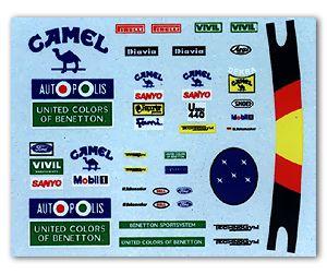 MSM Creation MSMD051 M. Schumacher Decal (Benetton 91' & 92')