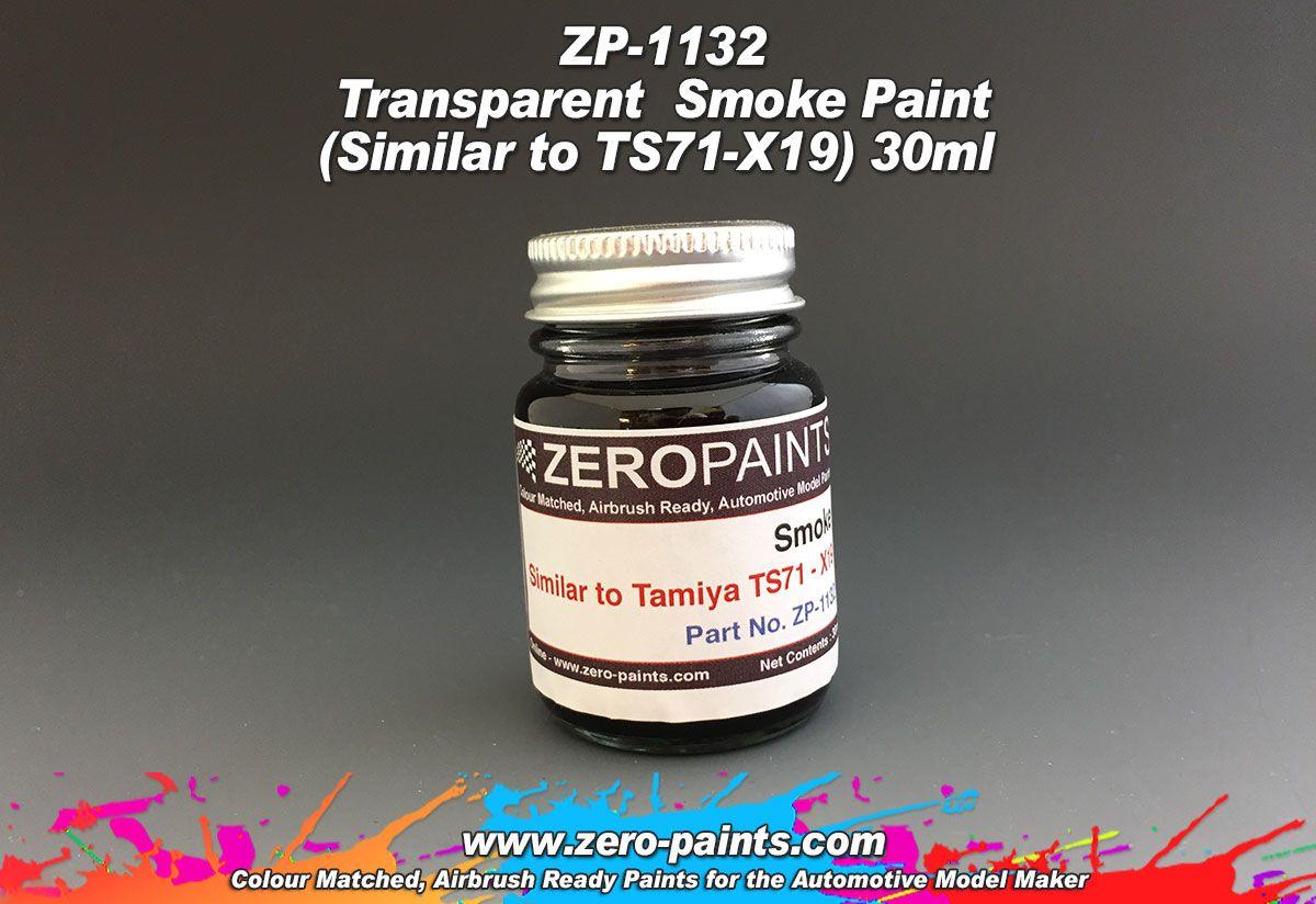 ZERO Paint ZP-1132 Transparent Smoke Paint (Similar to TS71-X19) 30ml