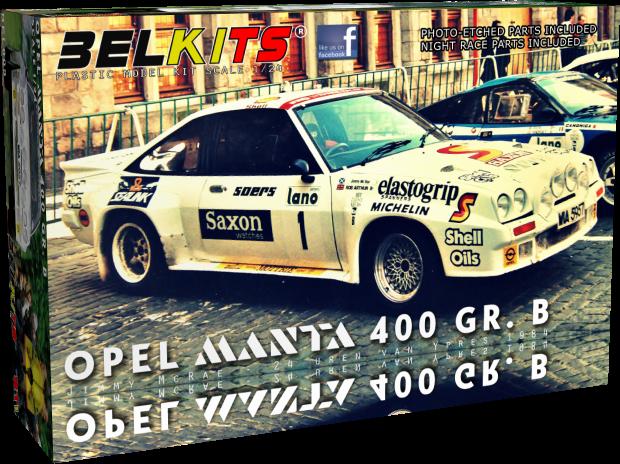 Belkits BEL009 Opel Manta 400 GR. B (Jimmy McRae 24 Uren van Ieper)