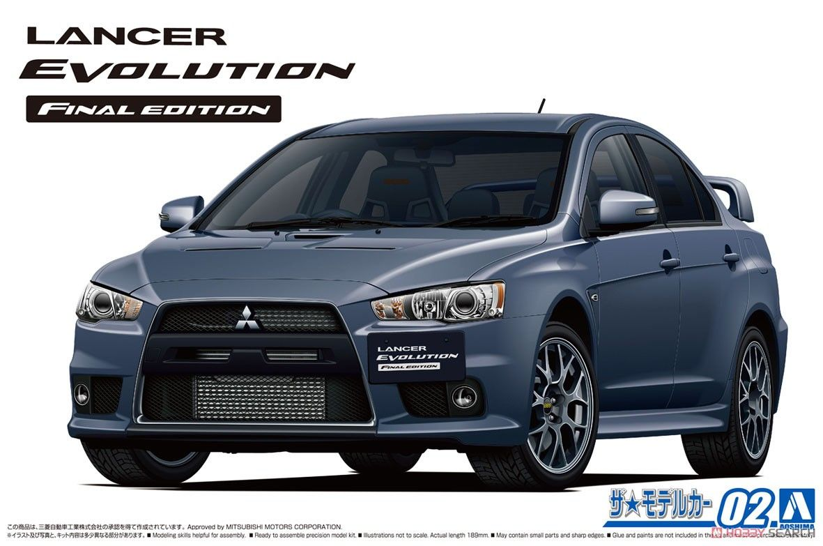 Aoshima 05795 Mitsubishi CZ4A Lancer Evolution Final Edition `15