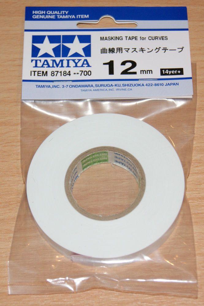 Tamiya 87184 Masking Tape for Curves 12mm