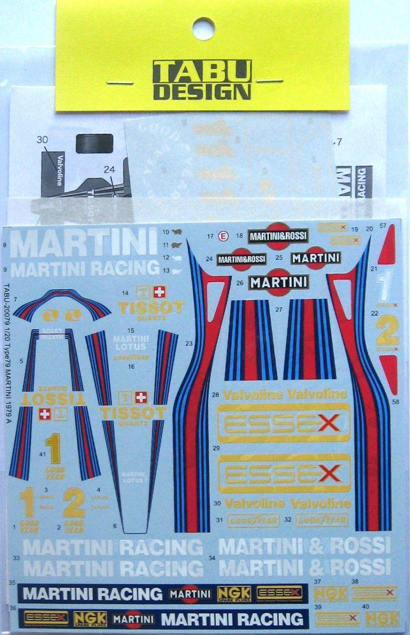 Tabu Design 20079 Type79 Martini (1979)