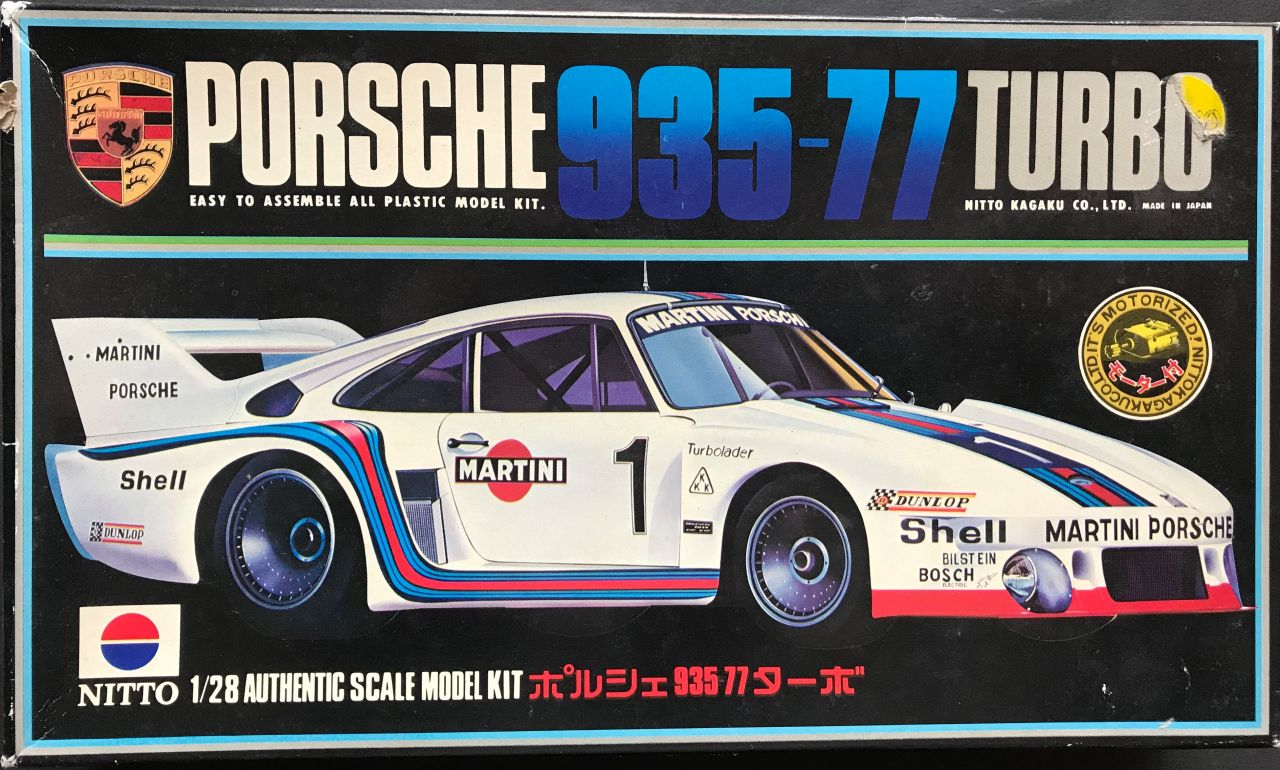 Nitto 641 Porsche 935-77 Turbo Martini Racing