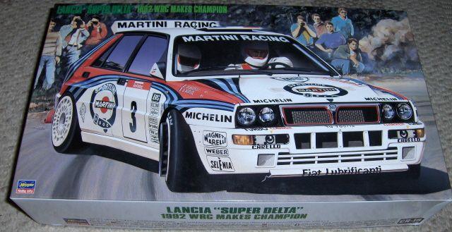 Hasegawa 25015 Lancia Super Delta 1992 WRC