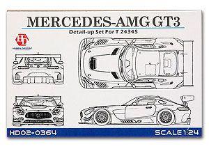 Hobby Design 02-0364 Mercedes-AMG GT3 Detail-UP Set For TAM24345