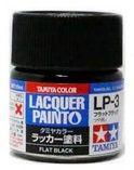 Tamiya 82103 LP-3 Flat Black - Flat