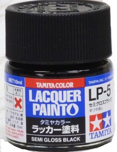 Tamiya 82105 LP-5 Semi Gloss Black