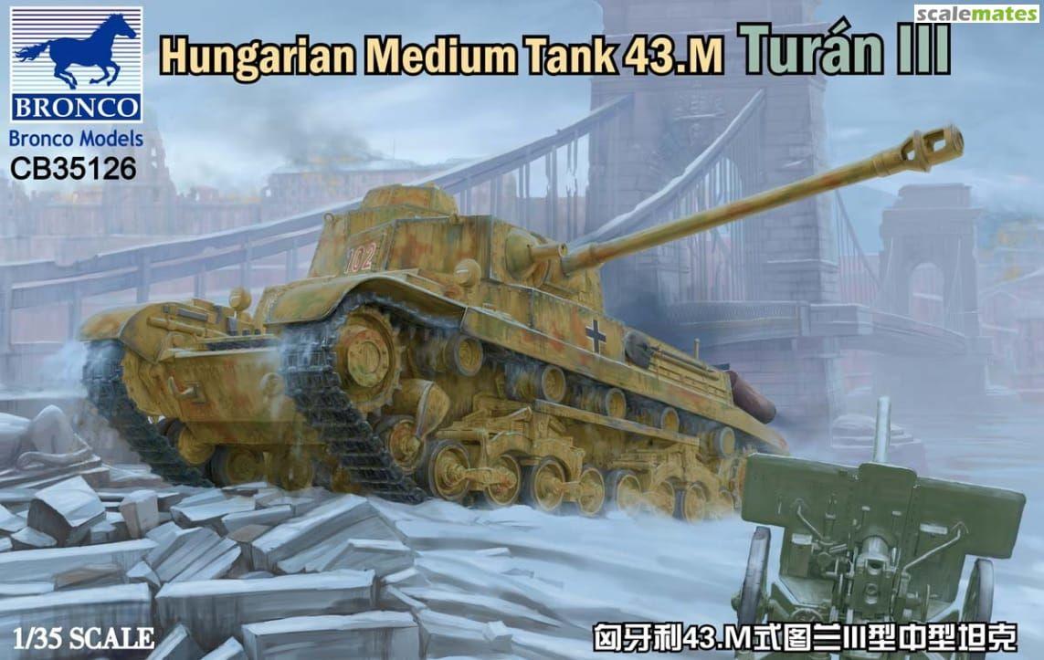 Bronco CB35126 Hungarian Medium Tank 43m Turán III