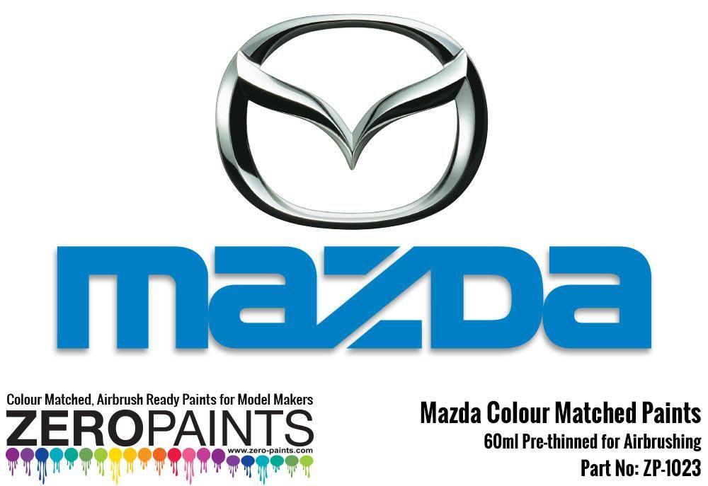 ZERO Paint ZP-1023 Mazda Paint